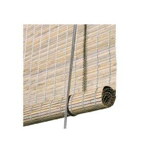 Grå bejdset bambus rullegardin color co 78030