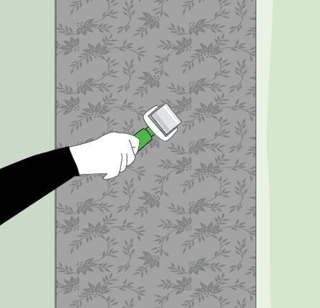 Rulo duvar kağıdı ile haddeleme