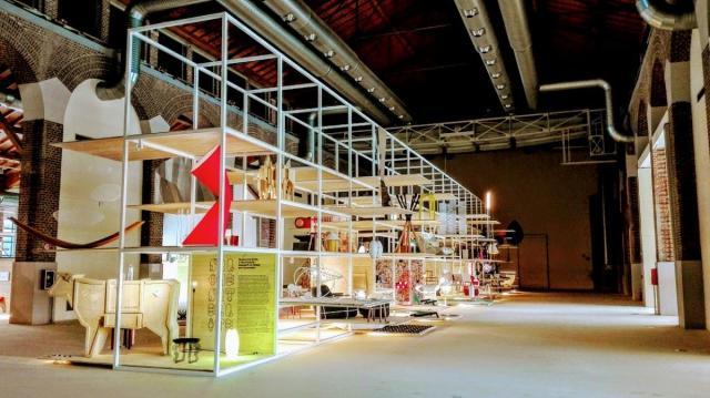 Salone Satellite Milan 2017 Hall d'entrée principal