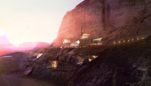 Wadi Rum Resort by Oppenheim Architecture + Design