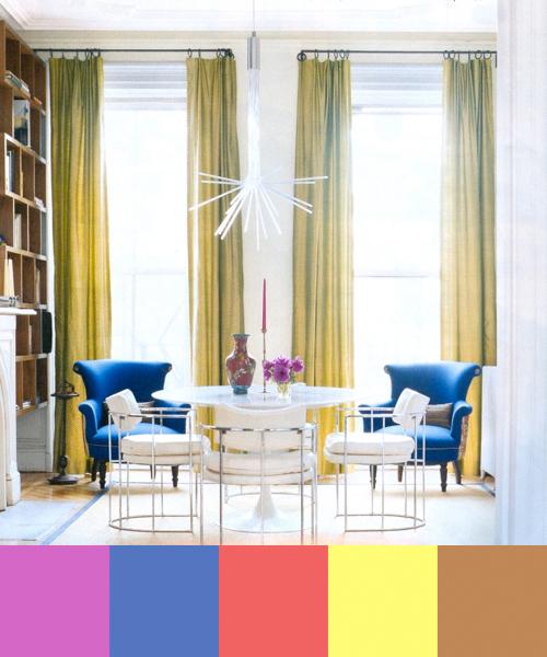 Colorful Interior Design By Fawn Galli Design Milk