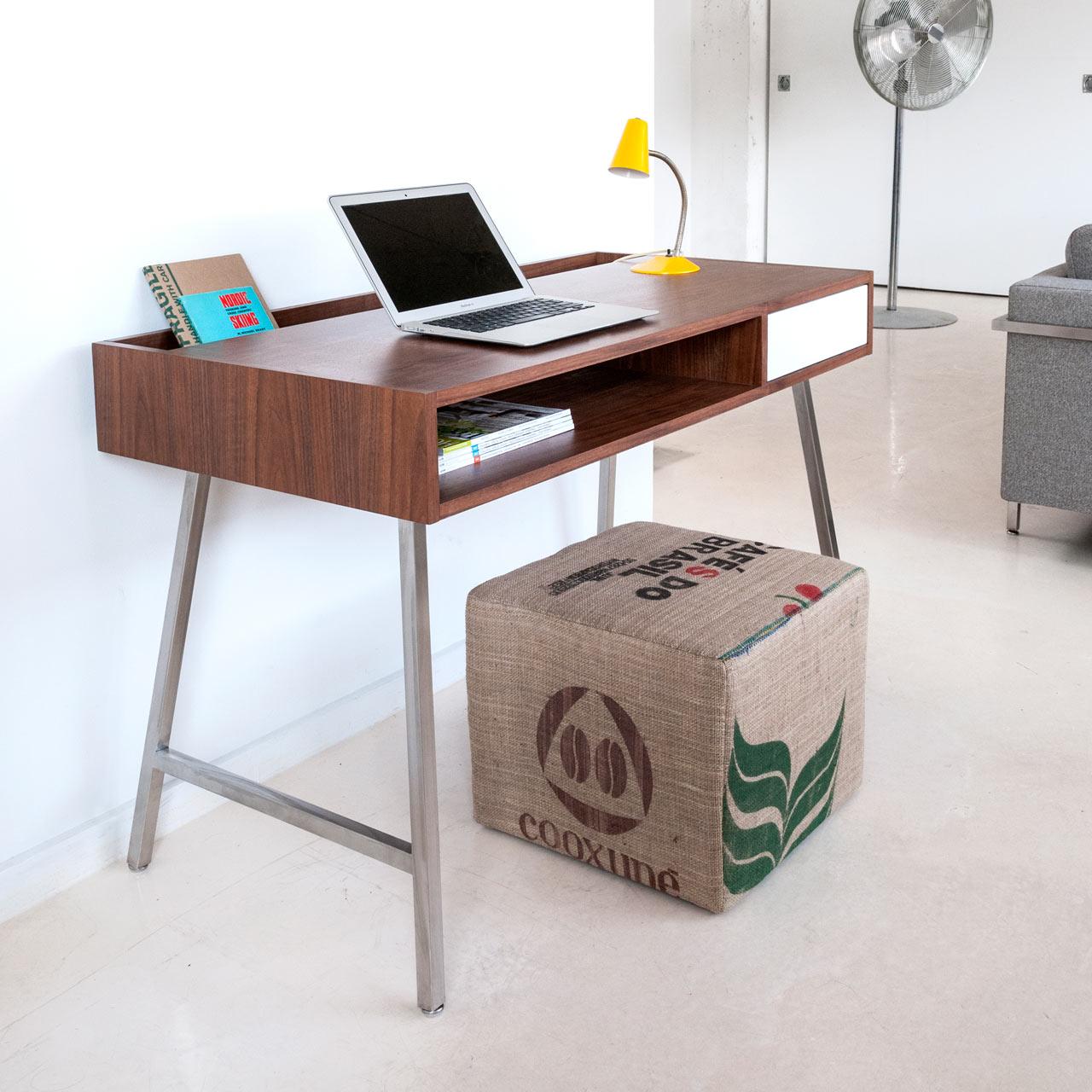 Best Kitchen Gallery: Modern Desks From Gus Modern Design Milk of Modern Desks For Home  on rachelxblog.com