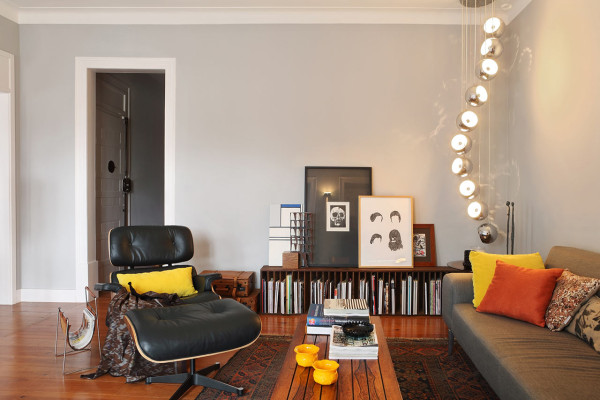 An Interior Design That Blends Modern & Vintage
