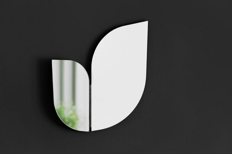 The Perho Mirror Was Inspired by the Wings of Birds and Butterflies