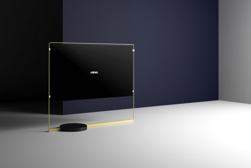 The Radically Slim and Golden Loewe bild X OLED
