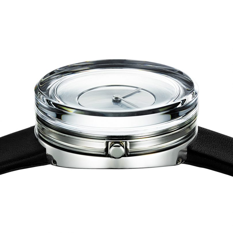 Tokujin Yoshioka Designed a Glass Watch for ISSEY MIYAKE Watch Project