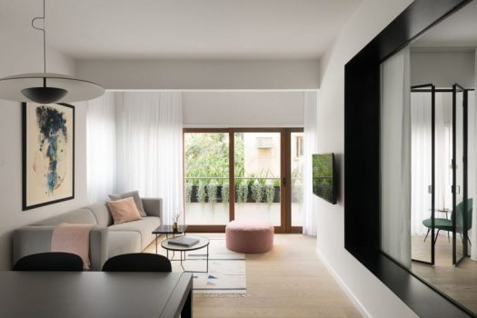 A 72 Square Meter Apartment in the Center of Tel Aviv