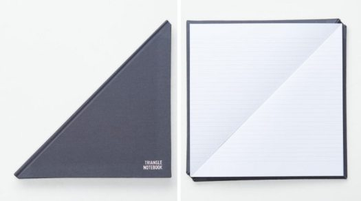 The New, Improved Triangle Notebook by Tan Mavitan