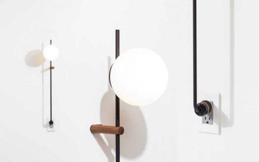 The LYNEA Plug Lamp Doesn't Require Hardwiring