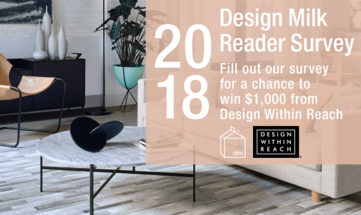 Design Milk 2018 Reader Survey: Enter to Win $1,000 Gift Card from DWR