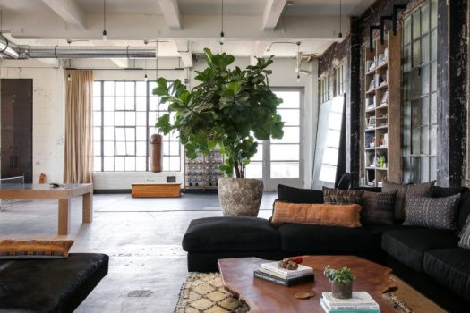 A Building in Venice Becomes a Converted Loft by Venice Loft by Alexander Design