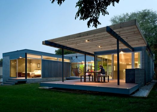 Casa Abierta: An Open Courtyard House by KUBE architecture