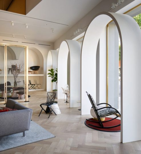 Knoll Creates a Moroccan Inspired Showroom for Its Home Design Shop     Why did you pick this city