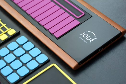 Joué Turns Music Making into a Touch, Tap, and Slide Experience
