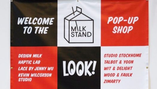 The Milk Stand Popped Up Again at ICFF 2018