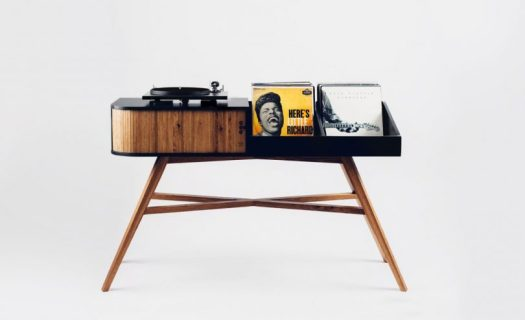 The HRDL Vinyl Table Proudly Puts Your Collection On Display