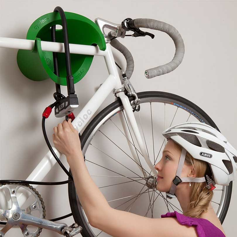 modern bike racks to keep your ride off