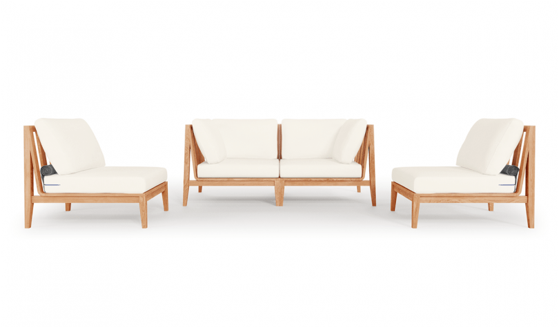 outdoor two seat sofa, outdoor chairs