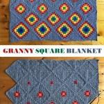 Crochet Granny Square Blanket Design Peak