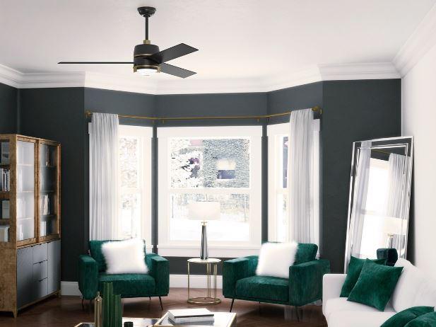 Bold Ceiling Fan Residential Design Tribe online Interior Design
