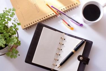 手帳に10月始まりがあるのはなぜ?手帳の種類とおすすめの手帳