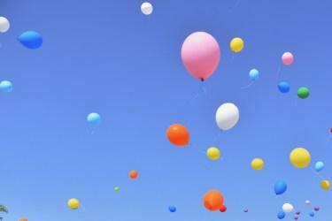 風船を浮かせる裏技をご紹介!子供の誕生会を盛り上げましょう