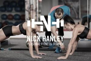 Nick Hanley Personal Trainer - Graphic Design Aardwolf Design