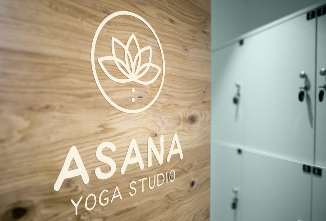Asana Locker Room Graphics Design Asana Yoga Studio Graphic design Aardwolf Design