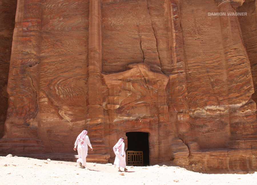 Did You Hear The One About The 2 Arab Guys That Go Into A Bar In Petra? Jordan