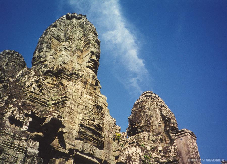 Faces Angkorwat Cambodia