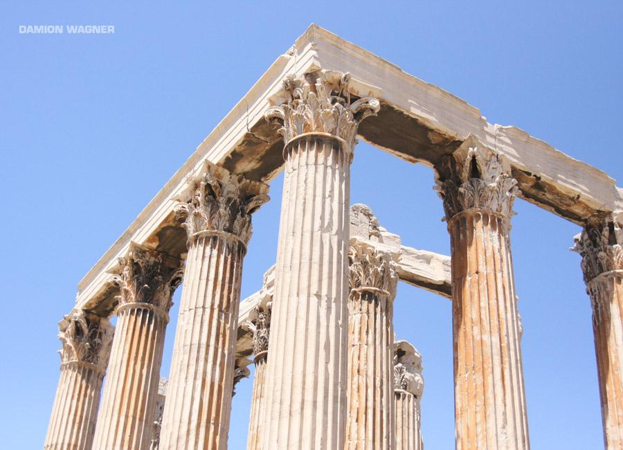 Stiles Olymbiou Dios (Temple Of Olympian Zeus) Greece