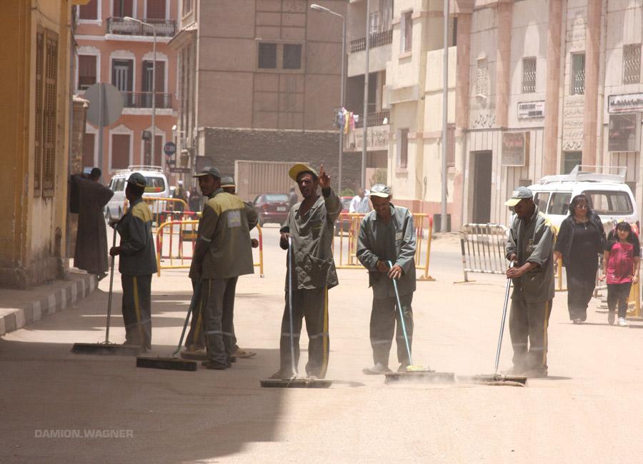Sweeping Dirt Egypt