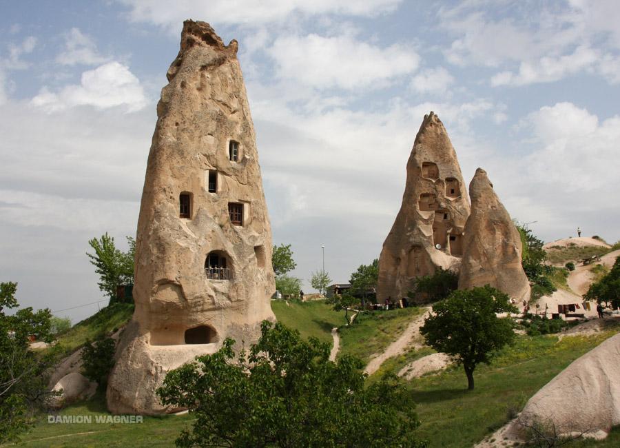 The Fairy Chineys Of Cappadocia Turkey
