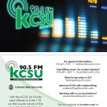 Business Card: KCSU Promotional Card