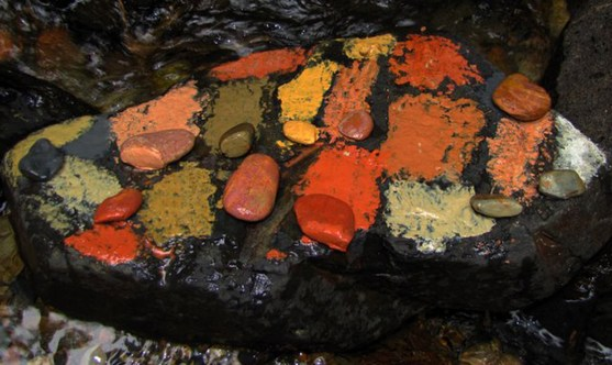 earth art stones