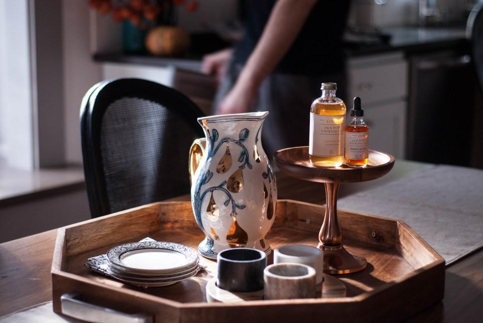Interior Styling tea tray