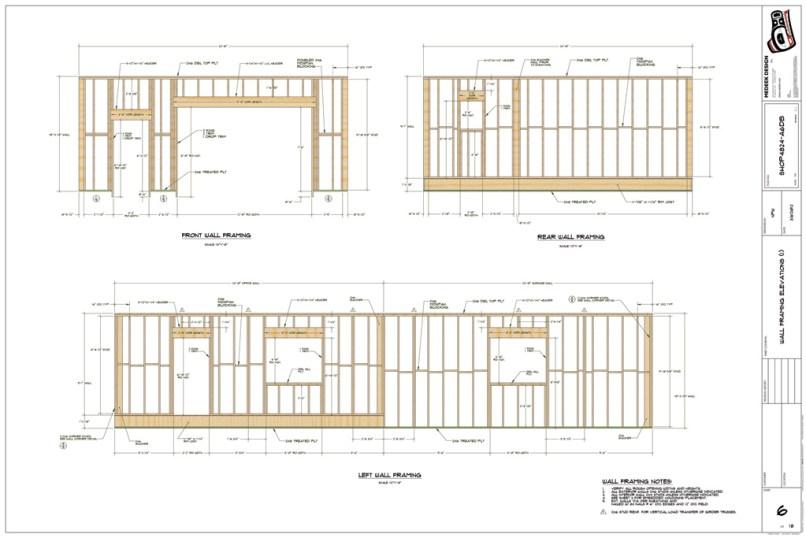 wall framing plan | Allframes5.org