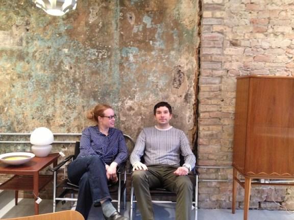 Laura Davis and Don Schmaltz at Circa Modern