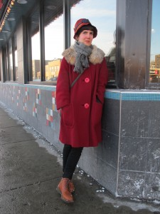Dr. Martens shoes are a constant companion in slush and ice