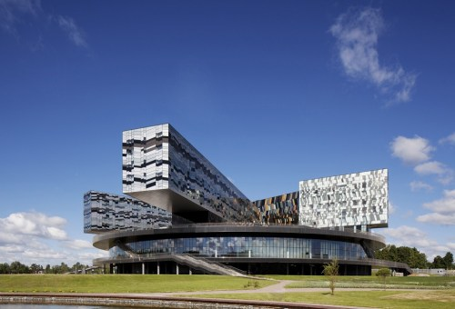 Moscow School of Management, Skolkovo, Russia, 2010./Photo: Ed Reeve, courtesy of Adjaye Associates.