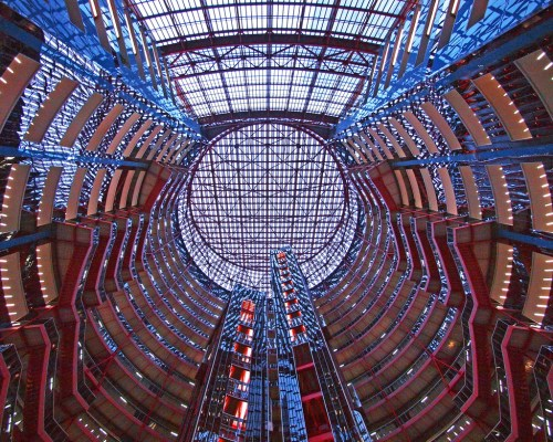 Thompson Center. Photo JohnPickenPhoto via Flickr, Creative Commons Attribution 2.0 Generic License