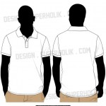 Polo shirt template