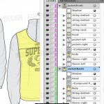 jacket vector template