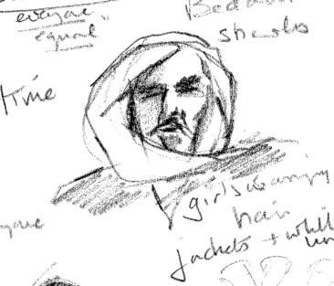 Bedouin man from video