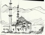 Oman mosque from photo
