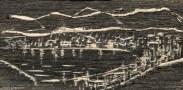 Woodcut - Oman
