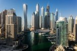Dubai View From Building Rooftops (4)