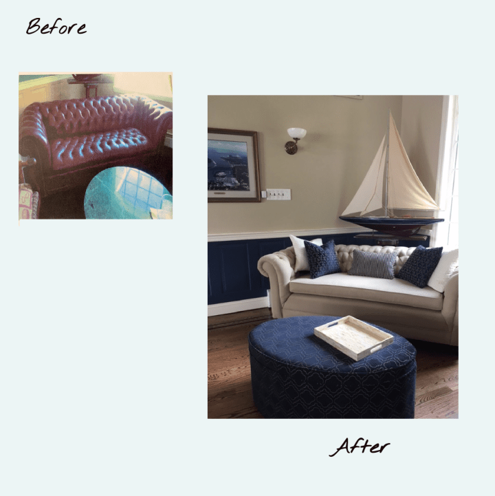 5 Excellent Reasons to  Reupholster your Furniture