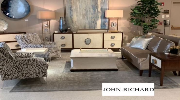 living room display by John-Richard