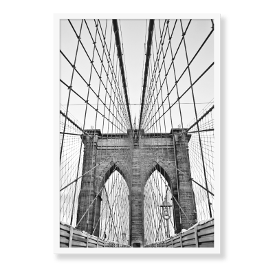 Brooklyn Bridge plakat, perfekt til dit hjem